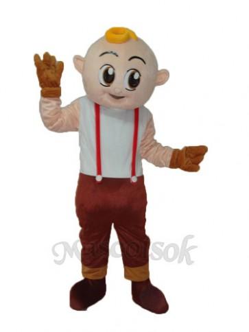 Boy Mascot Adult Costume