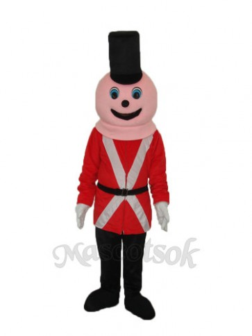 Royal Soldiers Mascot Adult Costume