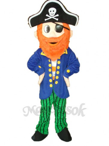 Pirate Mascot Adult Costume