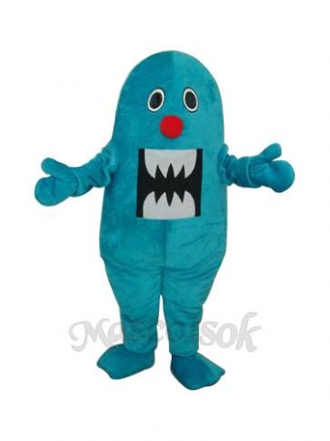 Blue Shark Mascot Adult Costume