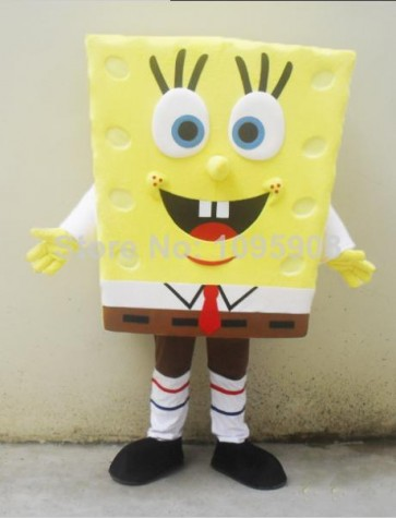 High Quality Spongebob Mascot Costume
