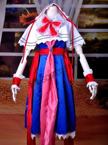 Touhou Project Alice Margatroid Amazing Cosplay Costume