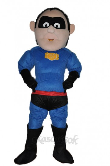 Superman Adult Mascot  Costume