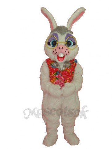 Easter Obama Rabbit Adult Mascot Costume