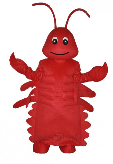 2nd Version Lobster Adult Mascot Costume