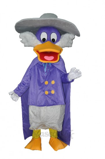 Naughty Purple Duck Adult Mascot Costume