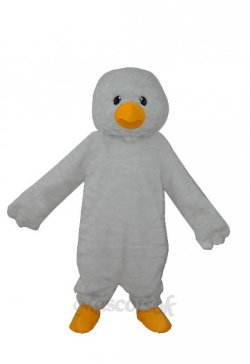 Super Soft Plush White Chick Adult Mascot Costume