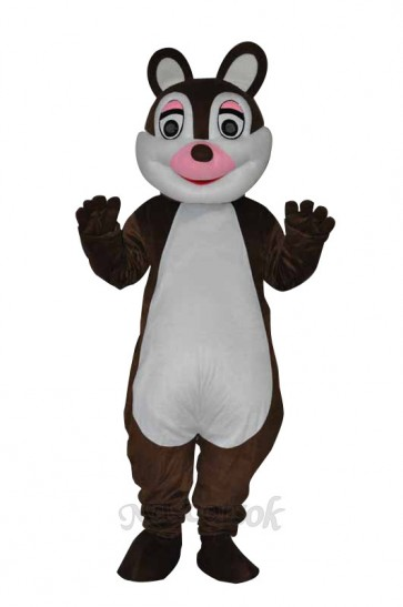 Cute little Squirrel Adult Mascot Costume
