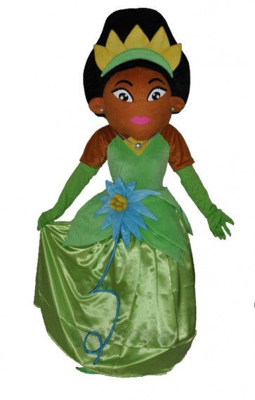 African & Indian Princess mascot costumes