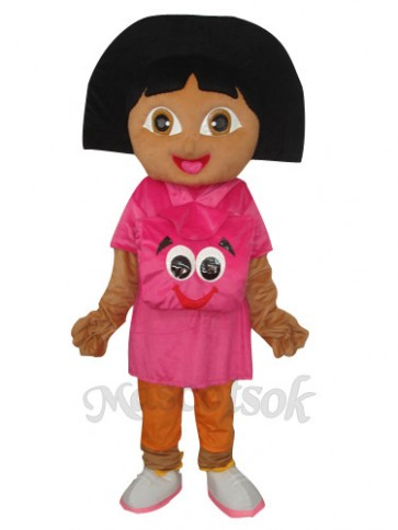 New Version Dora Mascot Adult Costume