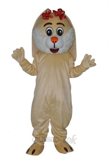 Easter Lovely Rabbit Adult Mascot Costume