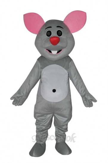 Grey mouse adult Mascot Costume