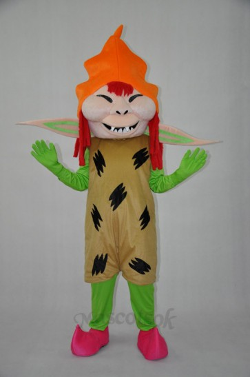 Scary monster Plush adult Mascot Costume