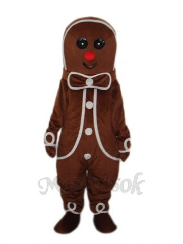 The Gingerbread Man Mascot Adult Costume