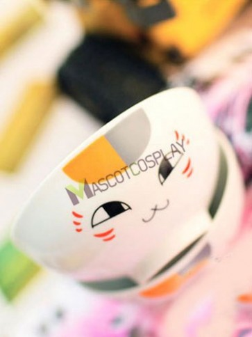 Cat Natsume's Book Of Friends Anime Ceramic Bowl