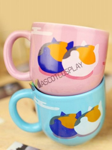 Natsume's Book Of Friends Anime Ceramic Mug Cup Blue