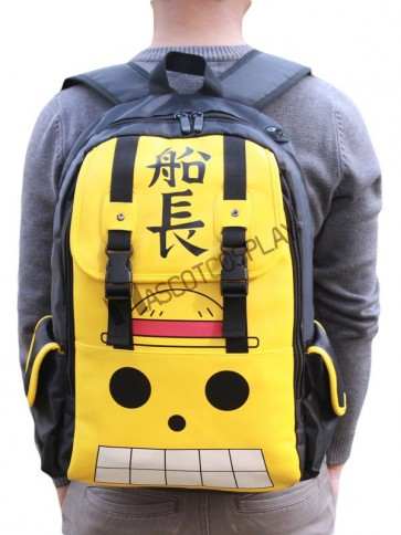 One Piece PU Backpacks Anime Bag