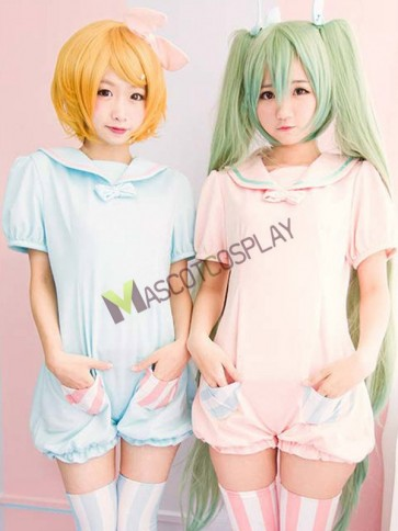 VOCALOID Miku Rin Jumpsuits Cosplay Costume