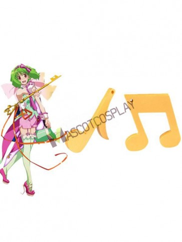 Music Note Macross Frontier Ranka Lee Chic Cosplay Props