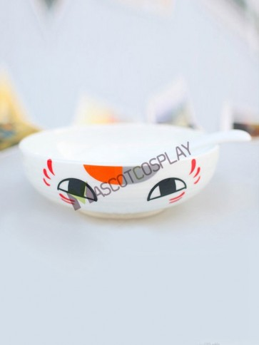 Natsume's Book Of Friends Anime Ceramic Bowl with Spoon