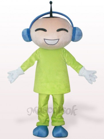 Antenna Doll Plush Adult Mascot Costume