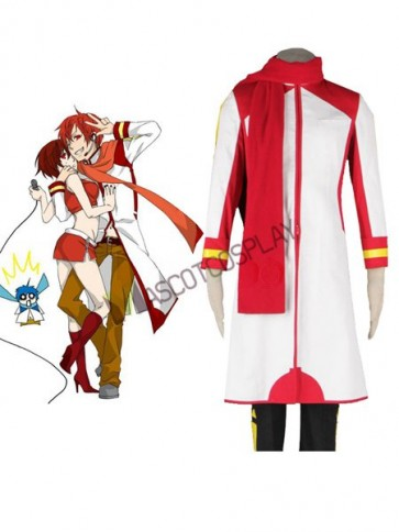 Anime Vocaloid AKAITO Cosplay Costume