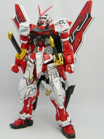Mobile Suit Gundam Seed Lowe Guele Gundam Astray Red Frame