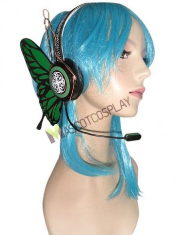 Green Plastic Material Vocaloid Gumi Cosplay Prop
