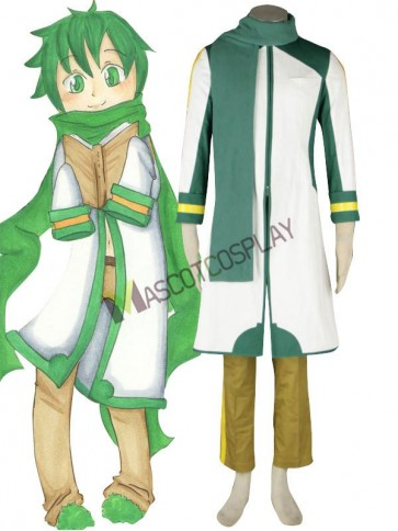 Anime Vocaloid Nigaito Kaito Cosplay Costume