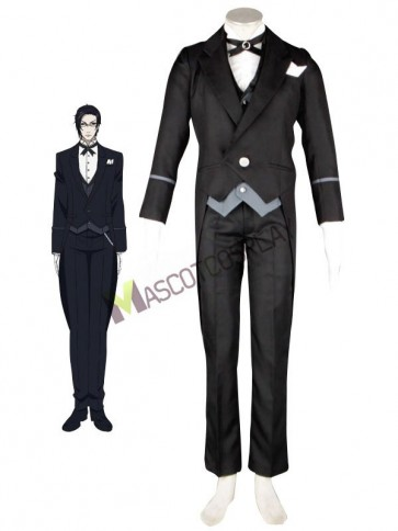 Black Butler Claude Faustus Anime Cosplay Costume