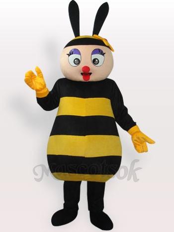 Bee Short Plush Adult Mascot Costume