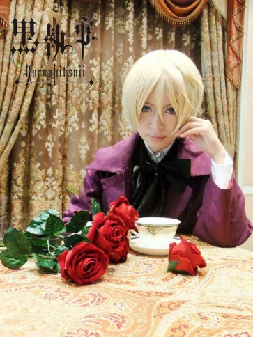 Black Butler Arnold Trancy Anime Cosplay Costume