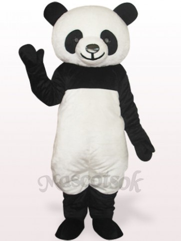 Black Panda Plush Adult Mascot Costume
