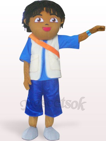 Boyfriend Of Dora Plush Adult Mascot Costume