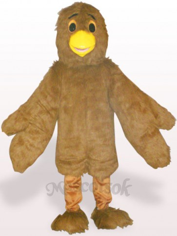 Brown Eagle Plush Adult Mascot Costume