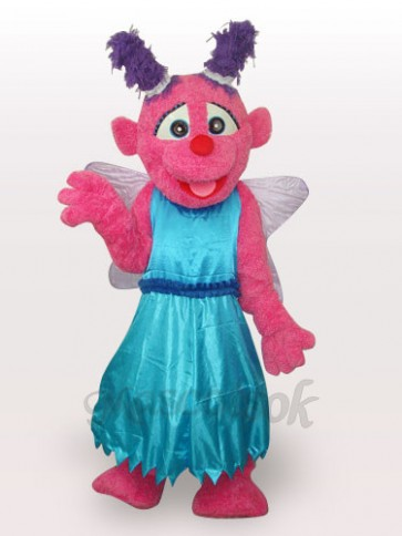 Butterfly Short Plush Adult Mascot Costume