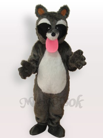 Cat Plush Adult Mascot Costume