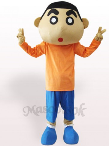 Crayon Shin-chan Short Plush Adult Mascot Costume