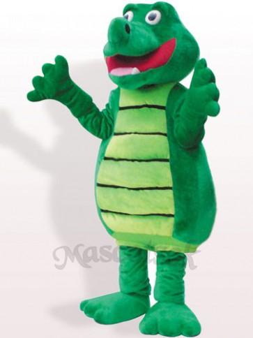 Crocodile Plush Adult Mascot Costume