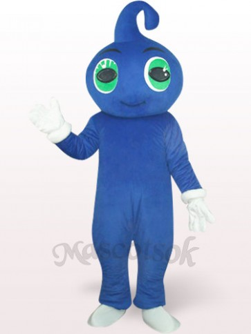 Cute Blue Baby Plush Mascot Costume