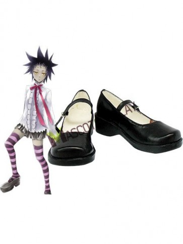 D.Gray Man Road Kamelot Imitated Leather Rubber Cosplay Shoes