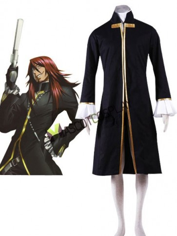 D.Gray-man Cross Maria Cosplay Costume