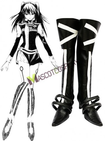 D.Gray-man Lenalee Lee Imitated Leather Cosplay Shoes