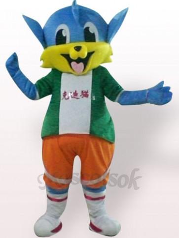 Dick Cat Plush Adult Mascot Costume