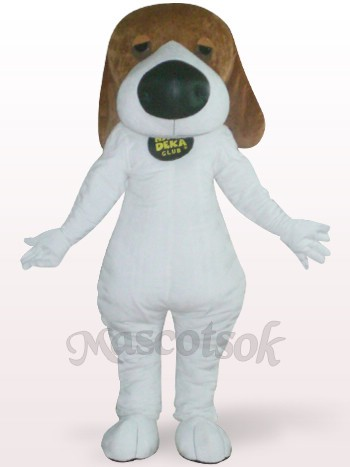 Dog With Big Nose Plush Adult Mascot Costume