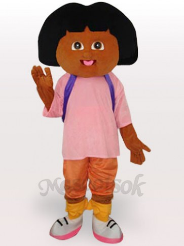 Dora Short Plush Adult Mascot Funny Costume