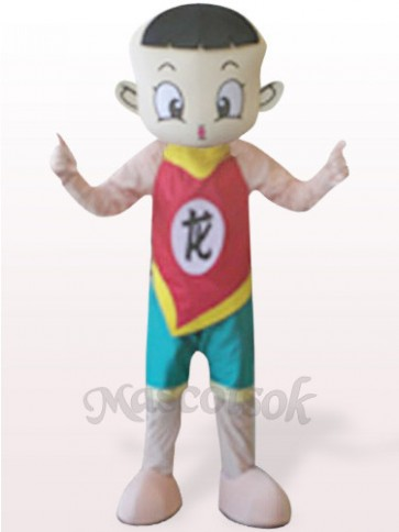 Dragon Boy Plush Mascot Costume
