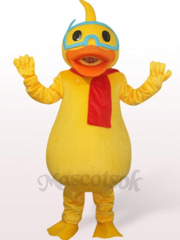 Duck Plush Mascot Costume