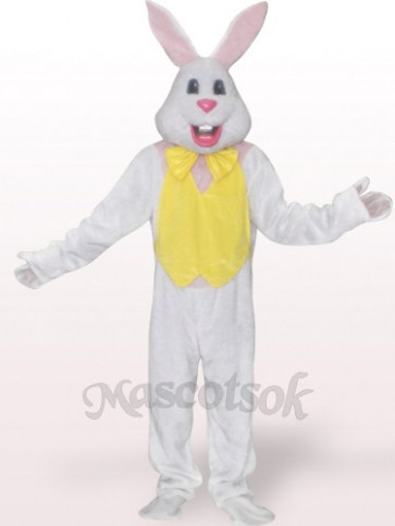 Easter Rabbit Plush Adult Mascot Costume