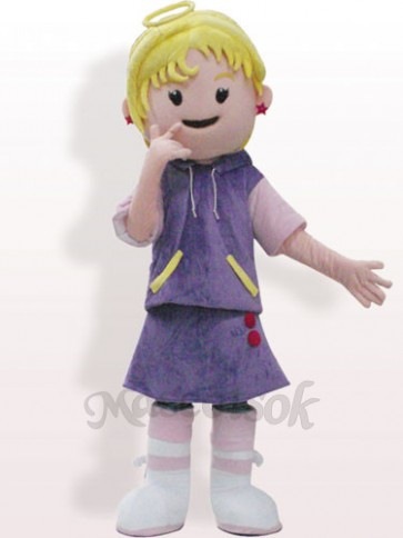 Fairy Plush Adult Mascot Costume